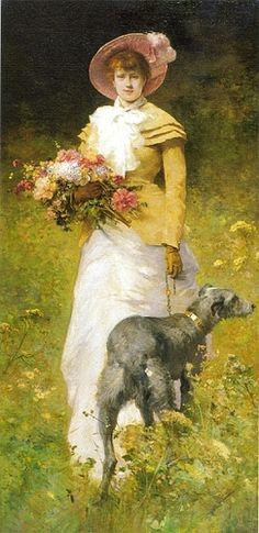 Ferdinand Heilbuth (1826-1889) French Painter ~ Blog of an Art Admirer
