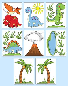 Dinosaur Wall Decals Baby Boy Nursery Kids Room Stickers Decor - Click Image to Close Childrens Wall Decals, Dinosaur Wall Decals, Childrens Room Decor, Baby Nursery Decor, Girl Nursery, Dinosaur Projects, Playroom Art, Room Stickers, Tree Graphic