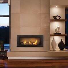 zero clearance gas fireplace - Google Search
