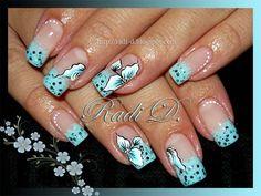 Baby blue by RadiD - Nail Art Gallery nailartgallery.nailsmag.com by Nails Magazine www.nailsmag.com #nailart