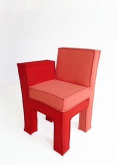 love seat chair by a