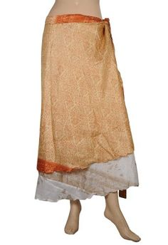 Boho Gypsy Indian Dress Recycled Printed Sari