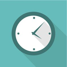 Flat Time Icon