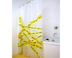 22 Cortinas criativas para o Box do banheiro | SOS Solteiros