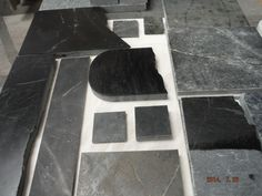 All different soapstone samples
