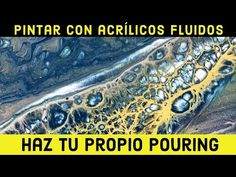 27 🎬 *4 CLAVES* para el POURING ACRÍLICO 🔑 Cómo hacer pouring casero (en español) - YouTube Acrylic Pouring Art, Acrylic Paint Set, Fluid Acrylics, Art Abstrait, How To Make Homemade, Abstract Wall Art, Moleskine, Art Techniques, Painting