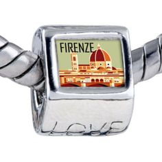 Pugster Bead Firenze Photo Love European Charm Bead Fits Pandora Bracelet Pugster. $12.49. Bracelet sold separately. It's the photo on the love charm. Hole size is approximately 4.8 to 5mm. Fit Pandora, Biagi, and Chamilia Charm Bead Bracelets. Unthreaded European story bracelet design