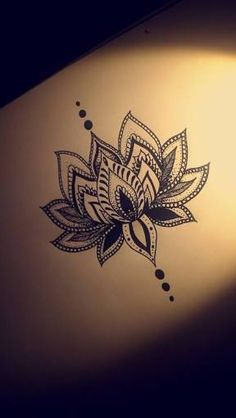 Image result for lotus unalome pencil drawing