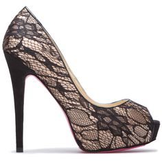 Jirina Shoe - love this! I would learn to walk in high heels for these!