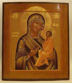 The Tikhvin Mother of God
