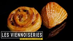 Les viennoiseries (PART 2/2) - YouTube Pain Aux Raisins, Brioche Bread, Baked Doughnuts, Sweet Pastries, Croissants, Baked Potato, Baked Goods, Ethnic Recipes, Breads