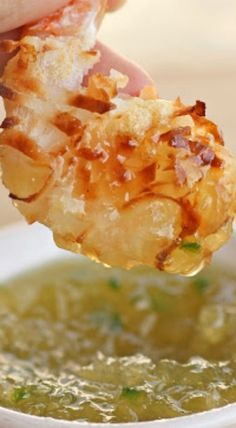 Baked Coconut Shrimp with Pineapple Dipping Sauce