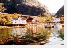 "The Vistenfjord ""The unknown fjord"" on the coast of Helgeland between the famous island of Vega and the Seven Sisters mountains. One of Northern Europe's most varied natural biotopes, with traces of hunting and fishing activities dating back 9,000 years, and permanent settlements not just near the mouth of the fjord but also at Bønå, where a local sheep farmer come fisherman and his family run a wilderness centre offering a variety of outdoor pursuits."