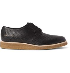 Perforated Leather Derby Shoes | MR PORTER