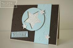 Stampin Up, Weihnachtskarte, Sterne, Nostalgische Weihnachten