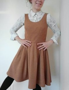 Matilde's Lilou dress - sewing pattern in Love at First Stitch