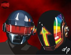daft punk  | DAFT PUNK by ~TadeoMendoza on deviantART