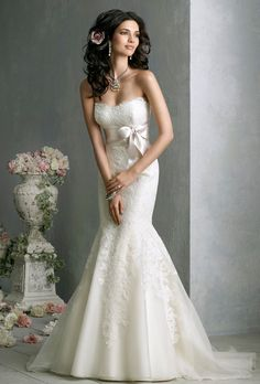 Brides: Jim Hjelm :  8850 - Jordan, looks like your Robin Jillian dress!