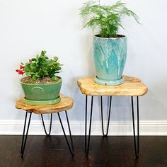 August Grove Cedar End Table Ideas Dormitorios, Coffee Table Base, Outdoor Stools, Wood End Tables, Side Tables, Porch Furniture, Wood Tray, Rustic Table, Natural