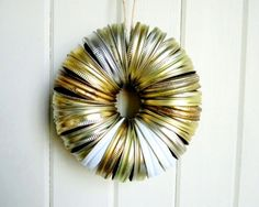 Canning Jar Ring Wreath