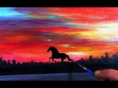WILD HORSE – Acrylic Painting on Canvas for Beginners
