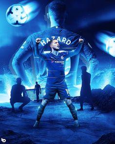 Chelsea Wallpapers, Chelsea Fc Wallpaper, Hazard Wallpapers, Chelsea Fc Players, Soccer Art, Foto Madrid, Sports Graphic Design, Football Design, Chelsea Football