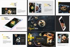 Food Powerpoint Template  Template Keynote And Presentation