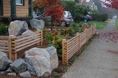 simple knee fence
