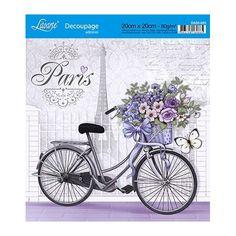 DA20-020 - Bicicleta com Flores em Paris