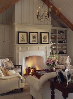 Uniqueshomedesign: Peter Zimmerman Arch Charisma Design. Warm Living RoomsCozy  Family ...