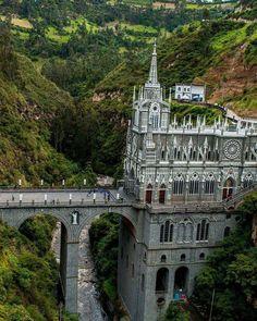 The Lajas Sanctuary in Ipiales, Colombia.