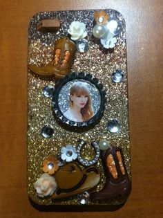 Bejewled Taylor Swift iPhone 4 Case by RayEG on #Etsy