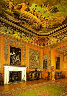The King's Dining Room at Windsor Castle England by mbell1975, via Flickr