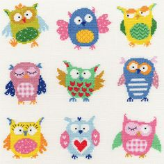 Slightly Dotty Owls