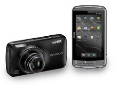 Coolpix Android Camera S800C by Nikon. Forget about blurry image with this you can shoot every moment with 16 megapixel photos and Full HD videos, even in low light conditions, 10x optical Zoom, telephoto distance and make faraway objects appear. Wi-Fi connectivity for instant share to social media. This camera also an Android smart device with a 3.5-inch high-resolution touchscreen. That means you can do all the things that Android smartphone or tablet can do. http://www.zocko.com/z/JI1fA