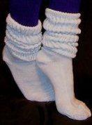 Slouch socks...stylin