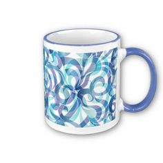 Mug Floral abstract background  http://www.zazzle.com/mug_floral_abstract_background-168814275595995548