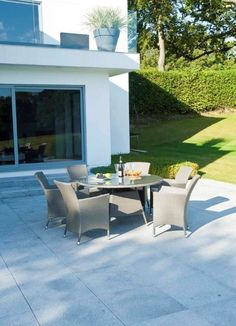 Buy Collection Havana Rattan Effect Grey 6 Seater Patio Set at