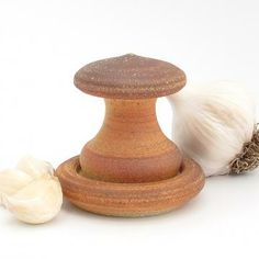 Peelstone, Peel Garlic, Stoneware Pottery Peelstone by PersimmonPottery for $35.00