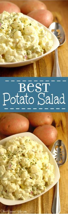 Best Potato Salad Recipe - Easy classic southern potato salad recipe. I never liked potato salad until I tried this recipe. It's seriously the BEST!