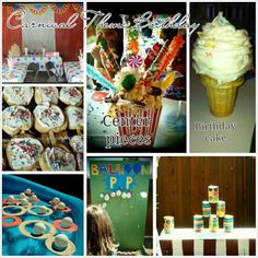 Carnival Birthday Party Theme