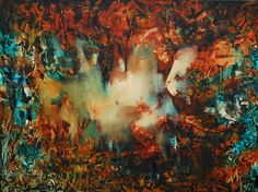 """""""Apocalíptico"""" - Oleo sobre tela - Paula Barbella www.esencialismo.com"""