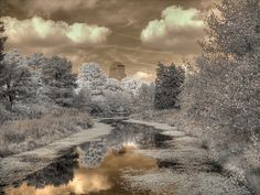 Photograph - Chase Park Plaza by Jane Linders , Shadow Silhouette, Infrared Photography, Forest Park, Great Team, St Louis, Places To Go, Country Roads, Scene, Clouds