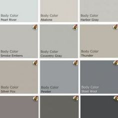 """Great Colors! Grays are """"hot"""" right now!"""