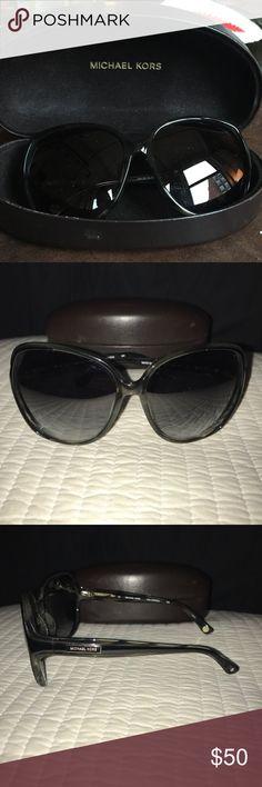 Michael Kors Sunglasses Black Michael Kors Sunglasses with minimal wear Accessories Sunglasses