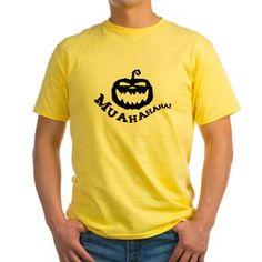 Evil pumpkin with evil laugh T-Shirt