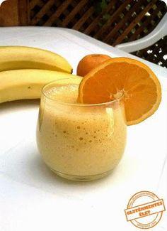 Gluténmentes élet: Narancsos-banános smoothie