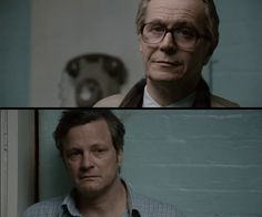 Tinker, Tailor, Soldier, Spy -Gary Oldman and Colin Firth Uk Actors, British Actors, Actors & Actresses, George Smiley, Tinker Tailor Soldier Spy, Future Love, Colin Firth, Gary Oldman, Film Stills