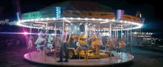 """Now the track has an eerie video of it's own, premiering here on BuzzFeed. Shot at a carnival in Melanie's hometown of Long Island, it brings the love-song-gone-wrong's carousel metaphor to life. 
