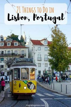 21 Things To Know Before You Visit Lisbon, Portugal. Top Things to See in Lisbon. A Day Trip to Sintra and What to Do in Lisbon. #travelingeurope